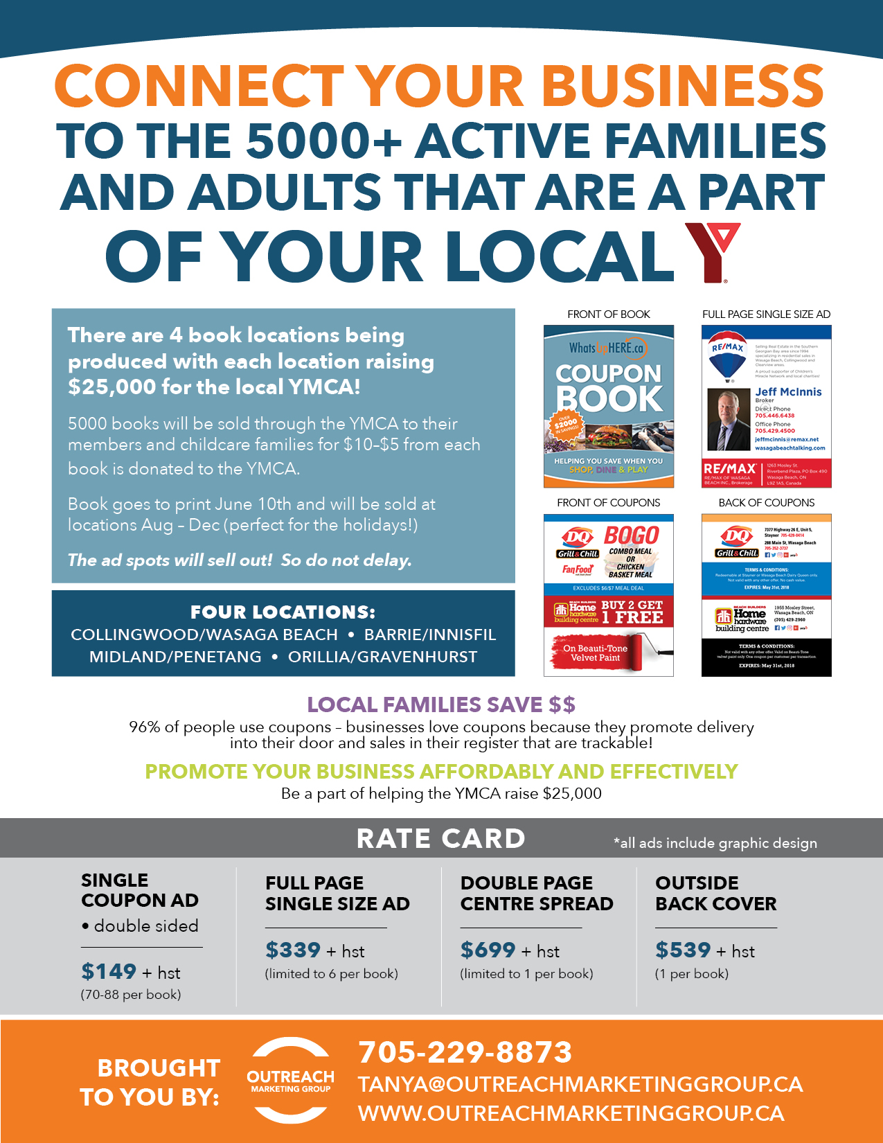 Coupon book outreach marketing group advertise in our coupon book ymca coupon books outreach marketing solutioingenieria Image collections